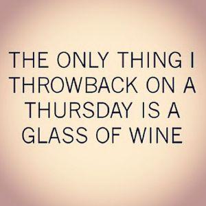 throwback wine thursday